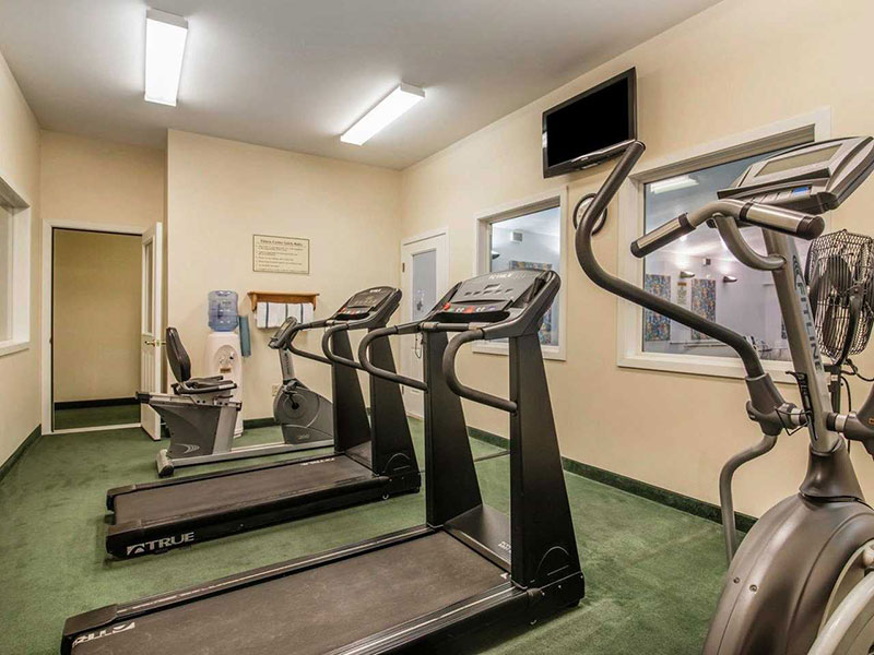 photo of hotel gym